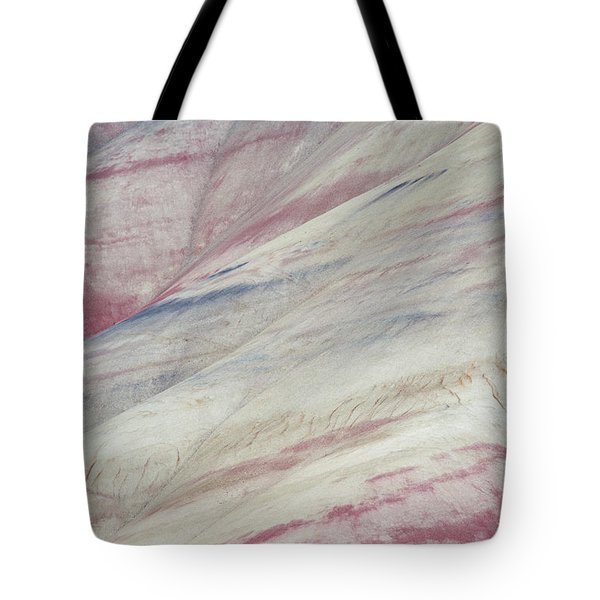 Painted Hills Textures 3 Tote Bag by Leland D Howard