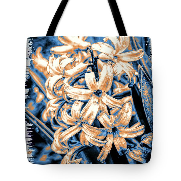 Painted Hyacinth Tote Bag