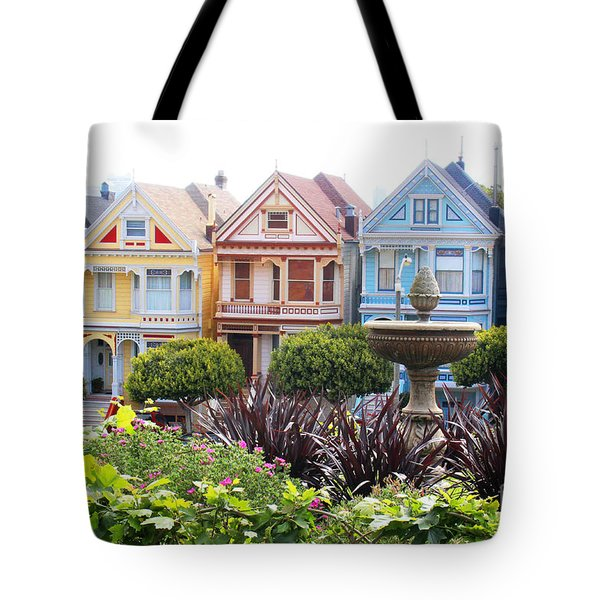 Painted Ladies San Francisco Tote Bag