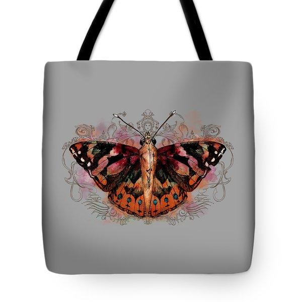 Painted Lady II Tote Bag