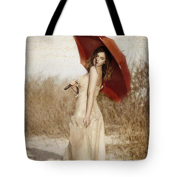 Painted Lady Narrow Tote Bag
