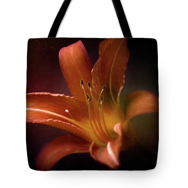 Painted Lily Tote Bag