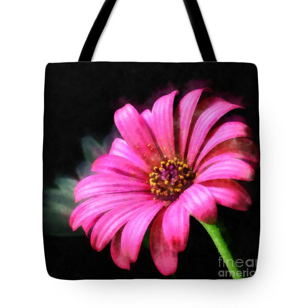 Tote Bag featuring the painting Painted Pink by Elizabeth Coats