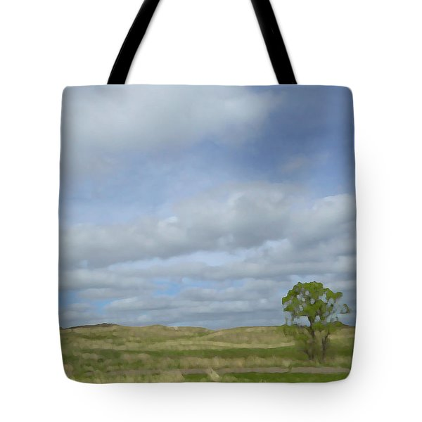 Tote Bag featuring the photograph Painted Plains by JoAnn Lense