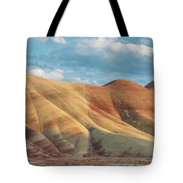 Tote Bag featuring the photograph Painted Ridge And Sky by Greg Nyquist
