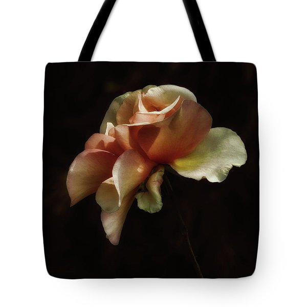 Painted Roses Tote Bag