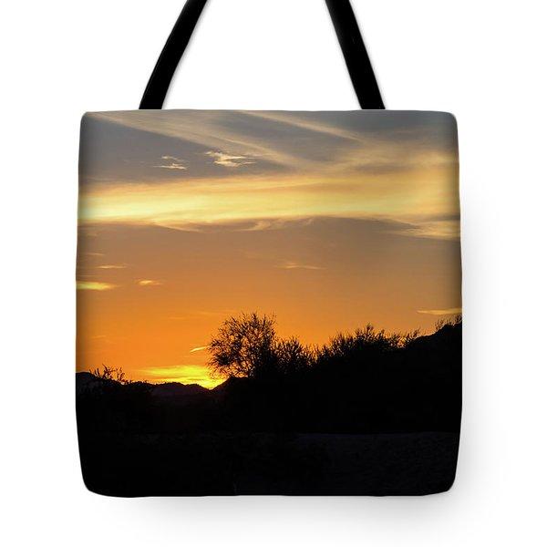 Painted Sky Tote Bag