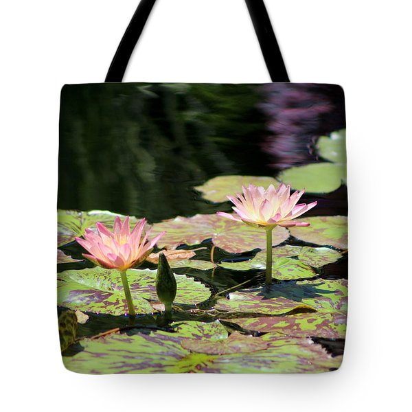 Painted Waters - Lilypond Tote Bag