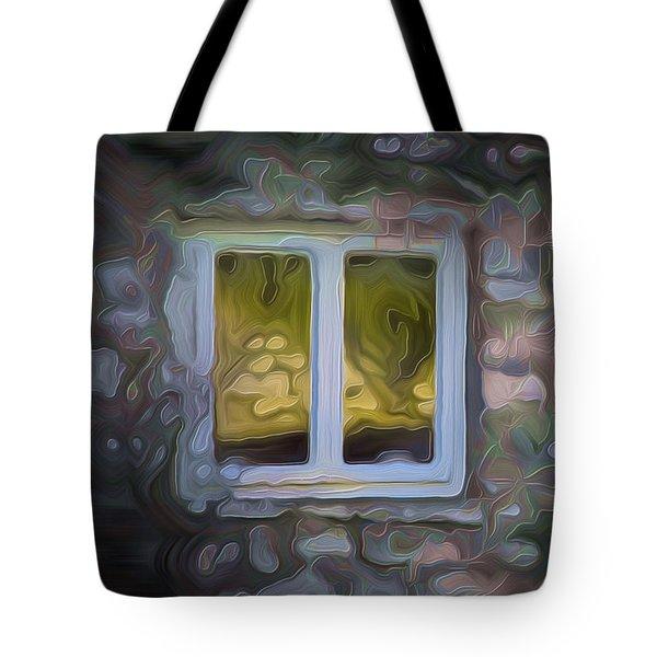Painted Window Tote Bag