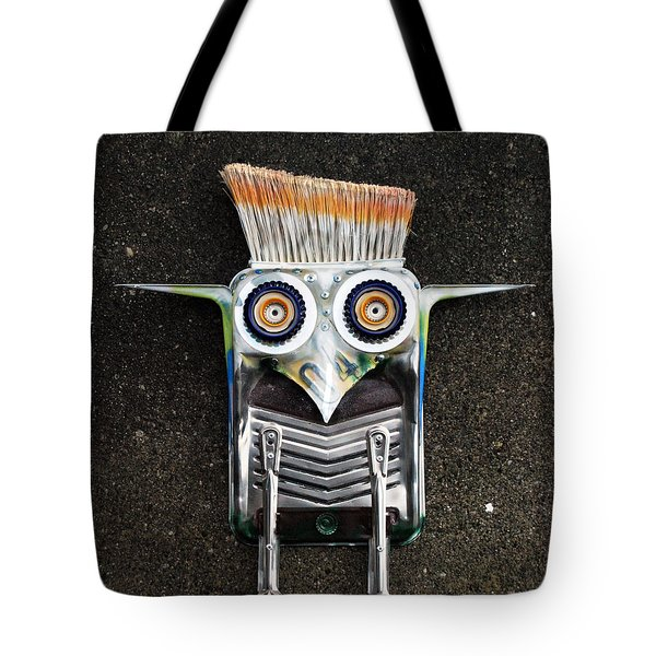 Painter Bird  Tote Bag