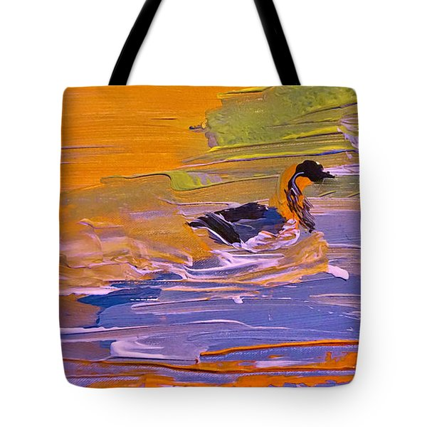 Painterly Escape Tote Bag