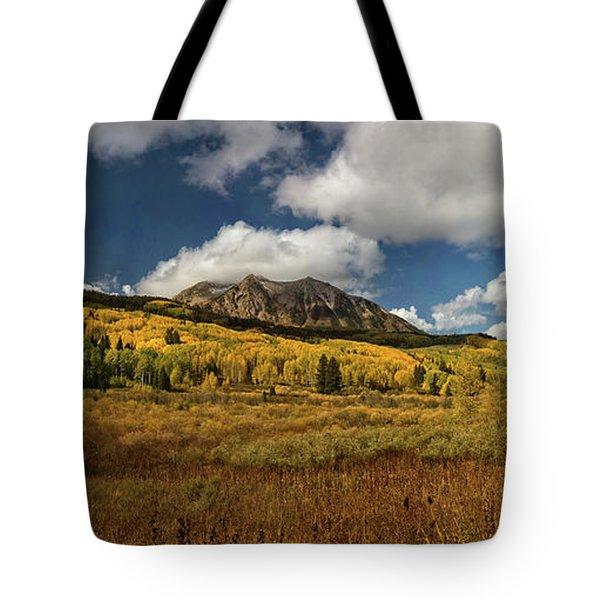 Painterly Kebler Pass Tote Bag
