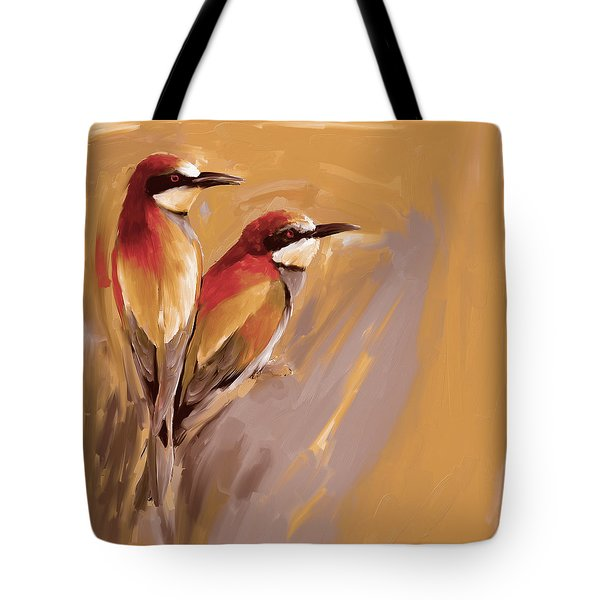 Painting 662 3 Bird 9 Tote Bag