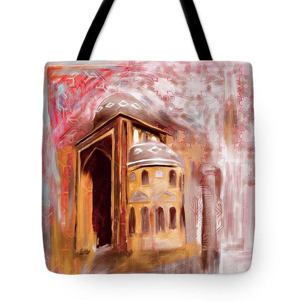 Painting 774 2jalil Khayat Mosque Tote Bag