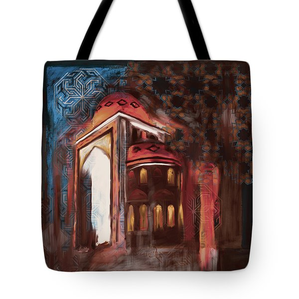Painting 774 3 Jalil Khayat Mosque Tote Bag