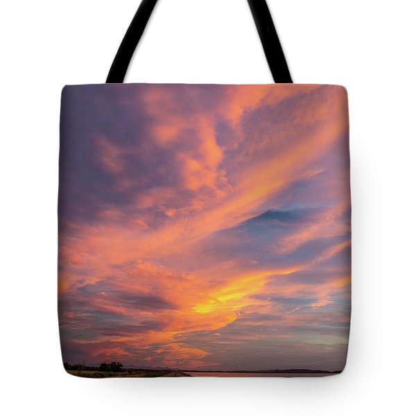 Painting By Sun Tote Bag