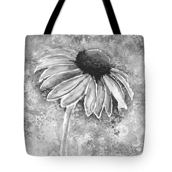 Tote Bag featuring the painting Painting Cone Flower 8615e by Mas Art Studio