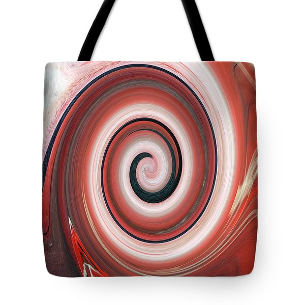 Painting Morphing Into Digital Tote Bag