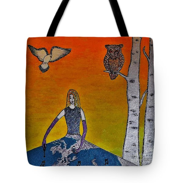 Painting On A Sunny Day Tote Bag