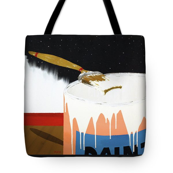 Painting Out The Sky Tote Bag