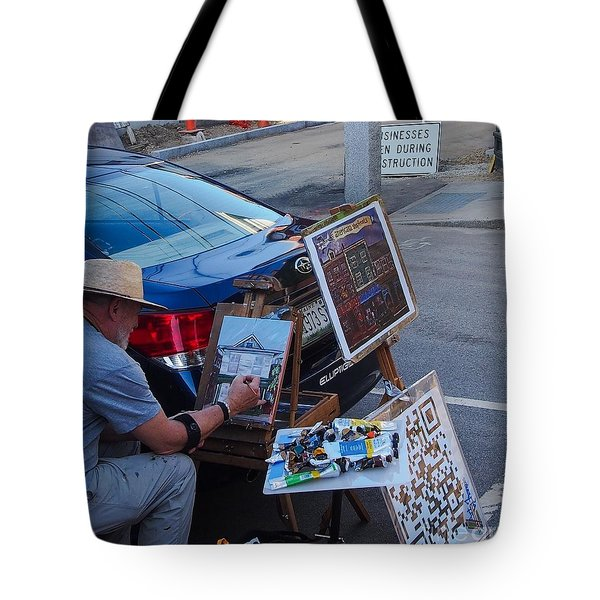 Painting Penhallow Tote Bag