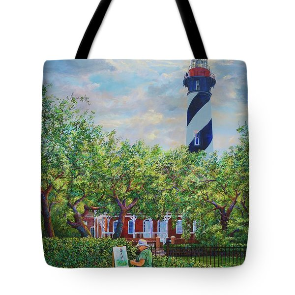 Painting The Light Tote Bag