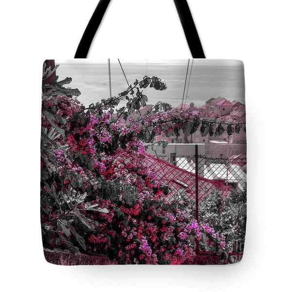Painting The Town Red Tote Bag