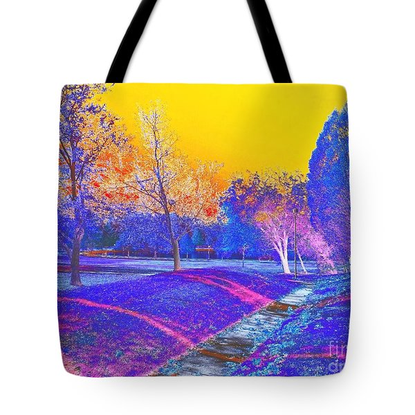 Painting With Shadows Tote Bag