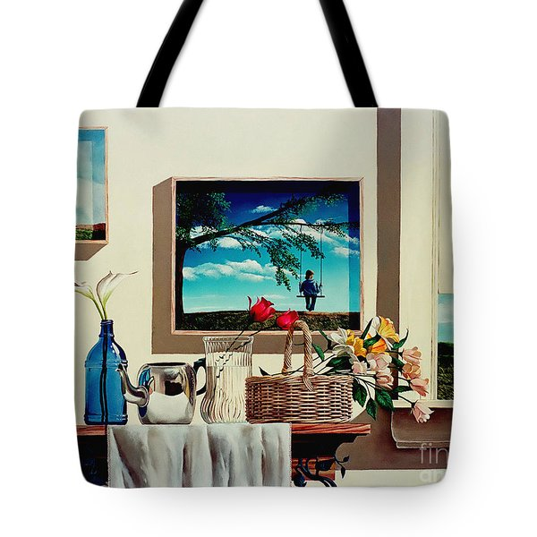 Paintings Within A Painting Tote Bag