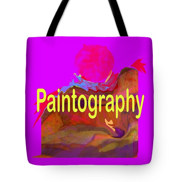 Paintography Tote Bag