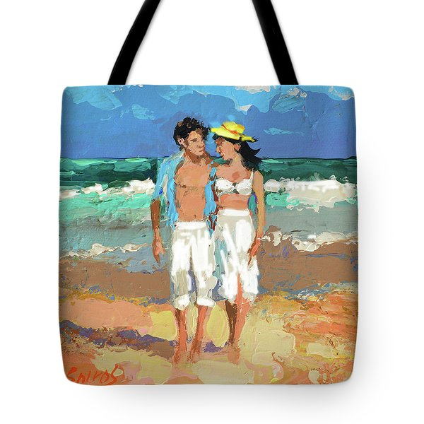 Pair By The Sea Tote Bag