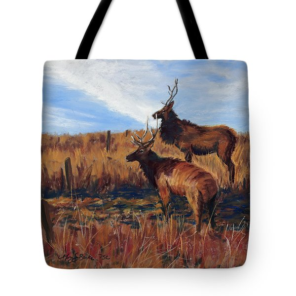 Pair O' Bulls Tote Bag