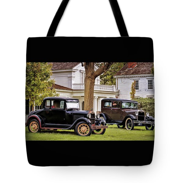 Pair Of Ford Model A  Tote Bag