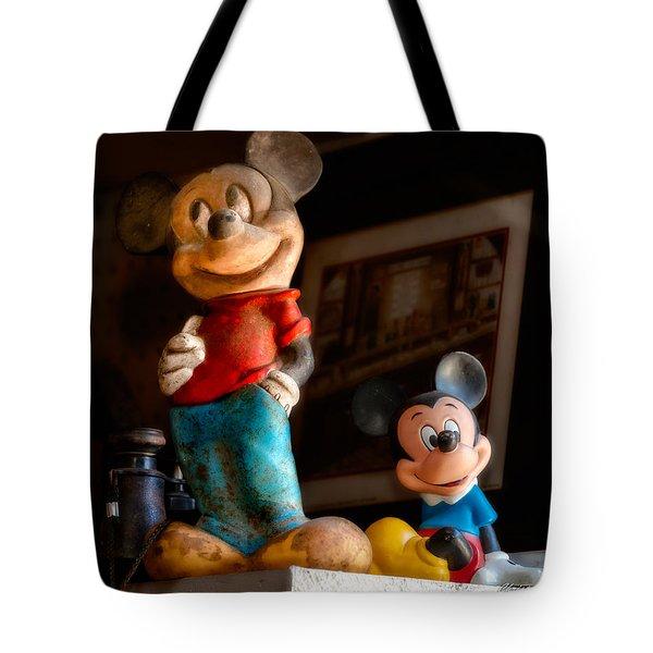 Pair Of Mickies Tote Bag by Christopher Holmes
