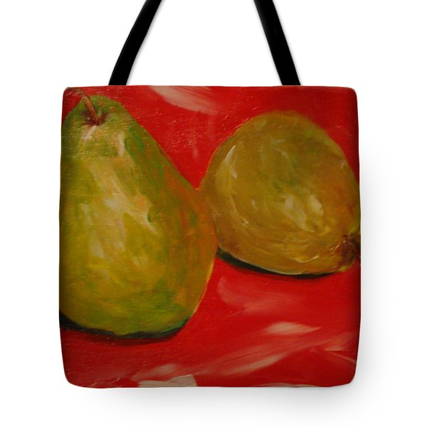 Pair Of Pears Tote Bag