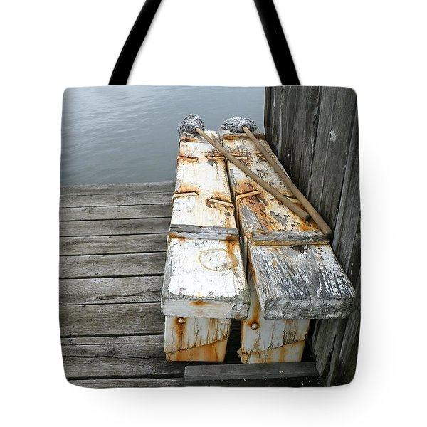 Tote Bag featuring the photograph Paired Up by Anna Ruzsan