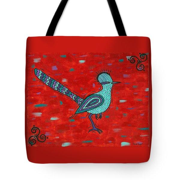 Paisano Petra - Roadrunner Tote Bag by Susie WEBER