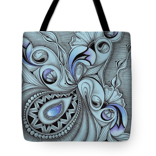 Paisley Power Tote Bag