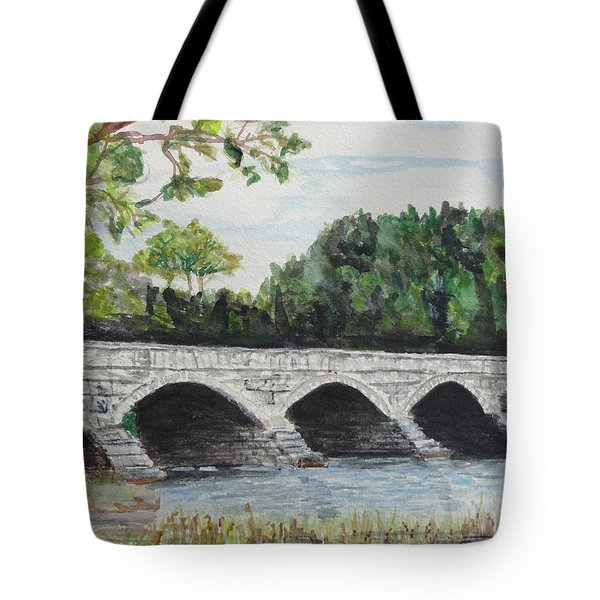 Pakenham Bridge Tote Bag