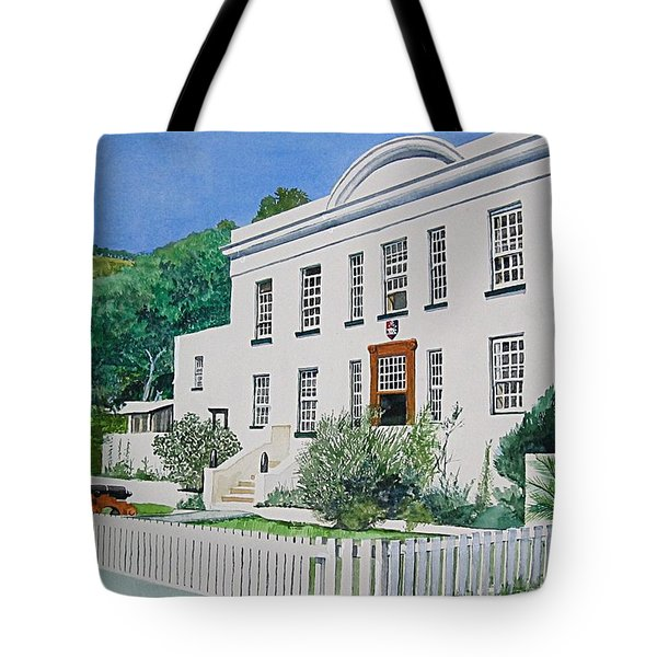 Palace Barracks Tote Bag
