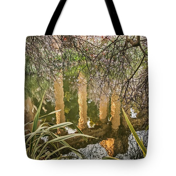 Tote Bag featuring the photograph Palace Grounds 2007 by Kate Brown
