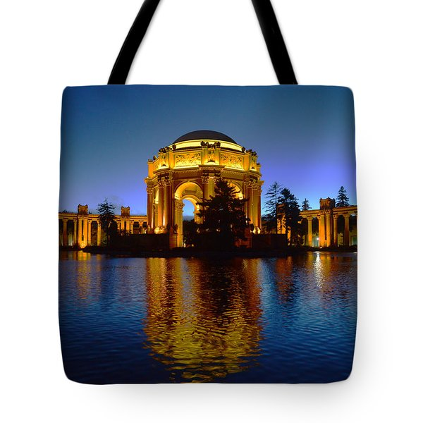 Palace Of Fine Arts Tote Bag