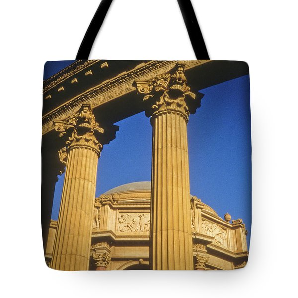 Palace Of Fine Arts, San Francisco Tote Bag