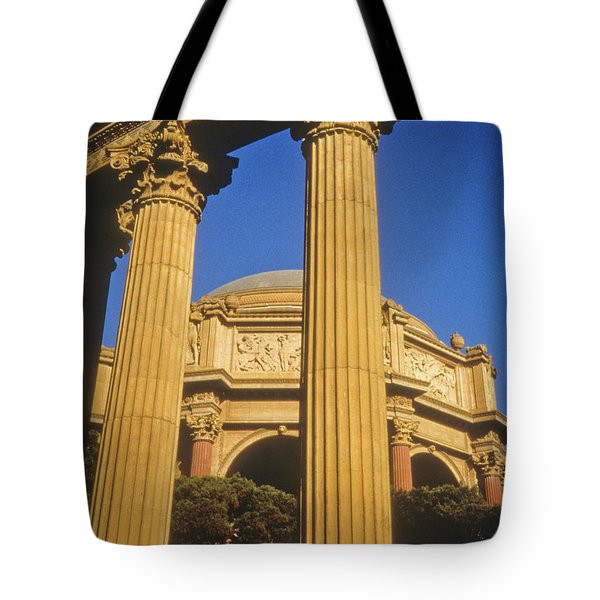 Palace Of Fine Arts, San Francisco Tote Bag