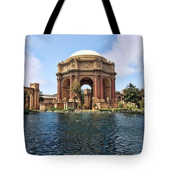 Tote Bag featuring the photograph Palace Of Fine Arts by Kim Wilson