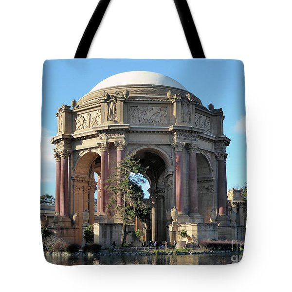 Tote Bag featuring the photograph Palace Of Fine Arts by Steven Spak