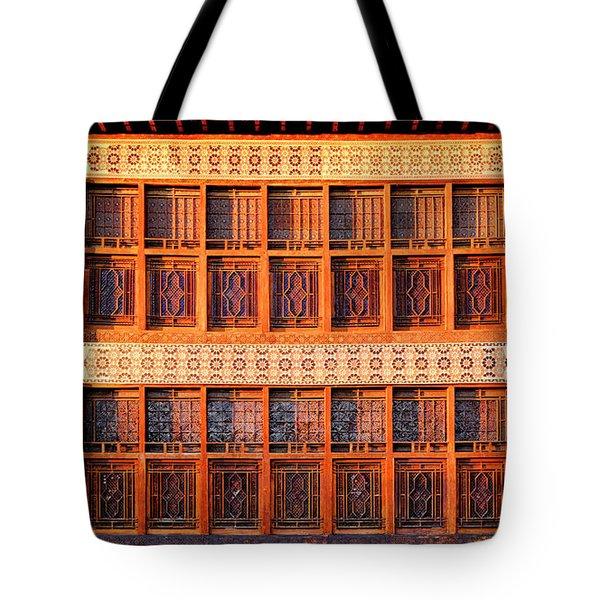 Tote Bag featuring the photograph Palace Of Sheki Khans by Fabrizio Troiani