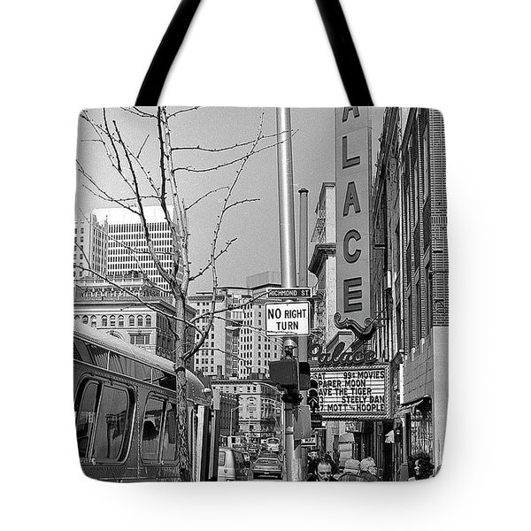 Palace Theatre, 1974 Tote Bag