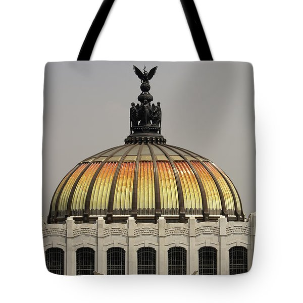 Palacio De Bellas Artes Dome Mexico City Tote Bag