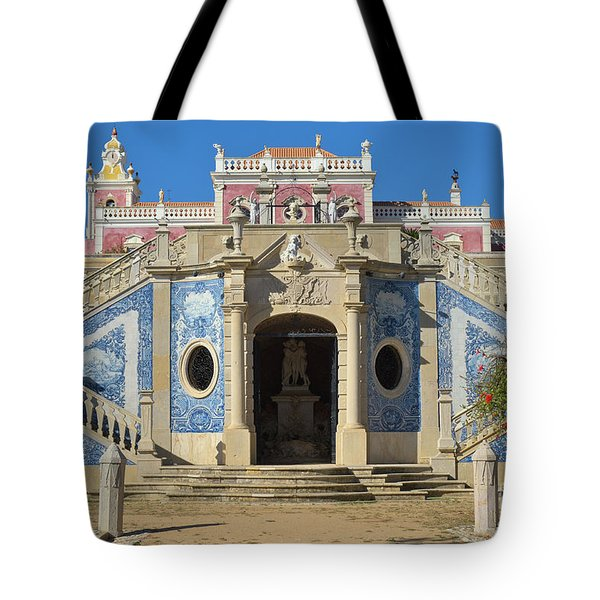 Palacio De Estoi Front View Tote Bag